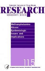 Methamphetamine Abuse - Archives - National Institute on Drug Abuse