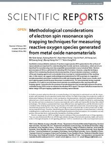Methodological considerations of electron spin