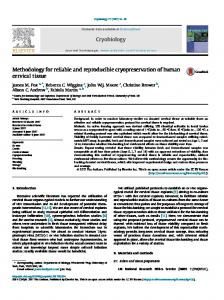Methodology for reliable and reproducible ... - Semantic Scholar