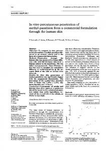 methyl-parathion from a commercial formulation - Europe PMC