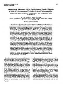 Methylation of Ribonucleic Acid by the Carcinogens ... - Europe PMC