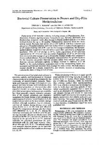 Methylcellulose - Applied and Environmental Microbiology