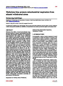 Methylene blue protects mitochondrial respiration ... - Semantic Scholar