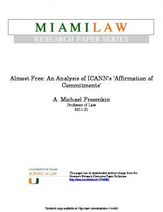 miamilaw - SSRN papers
