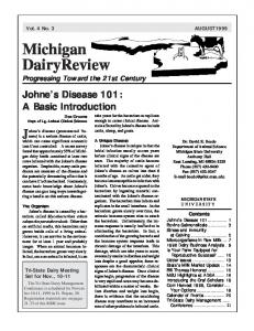 Michigan Dairy Review Vol. 4 No. 3 - Michigan State University