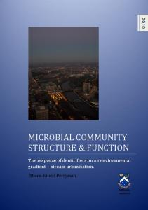 Microbial Community Structure and Function