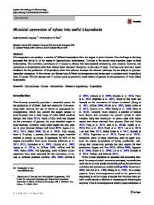 Microbial conversion of xylose into useful bioproducts