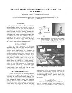 microelectromechanical components for ... - Semantic Scholar