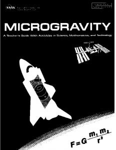 Microgravity Educator Guide - NASA