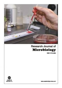 Microorganisms Associated with Rot of Minisetts of ... | ResearchGate