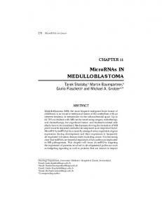 MicroRNAs-Chap 11.indd