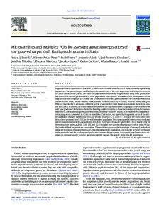 Microsatellites and multiplex PCRs for assessing ...