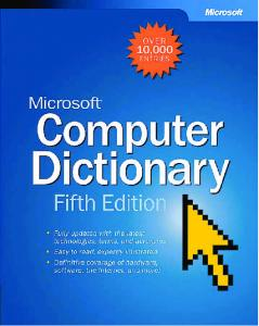 Microsoft Computer Dictionary, Fifth Edition eBook - Index of