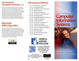 Microsoft Office Specialist CIS Courses Offered JOHN A. LOGAN ...