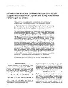 Microstructural evolution of nickel nanoparticle ... - Springer Link
