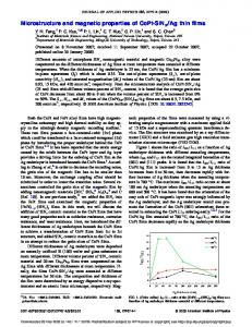 Microstructure and magnetic properties of CoPt-SiNx/Ag thin films
