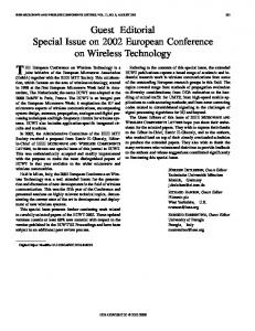 Microwave and Wireless Components Letters, IE - IEEE Xplore