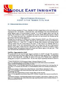 Middle East Insights