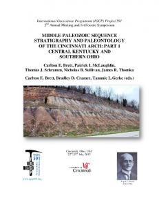 middle paleozoic sequence stratigraphy and ...