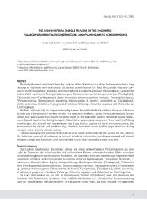 (middle triassic) of the dolomites: palaeoenvironmental ... - Zobodat