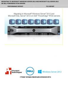 Migrating to Microsoft Windows Server 2012 and Microsoft SQL ...
