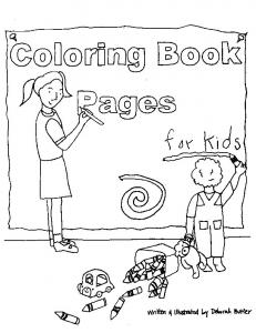 Military Child Coloring Book