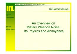 military weapon noise
