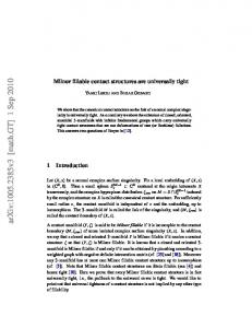 Milnor fillable contact structures are universally tight