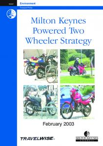 Milton Keynes Powered Two Wheeler Strategy