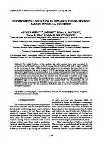 Mineral contents and heavy metals determination in