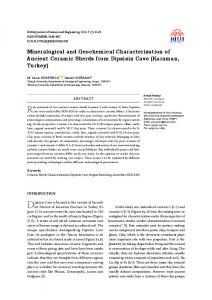 Mineralogical and Geochemical Characterization of