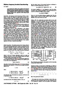 Minimax frequency invariant beamforming - Electronics ... - IEEE Xplore