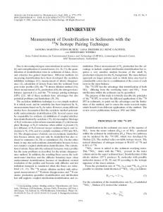 minireview - Applied and Environmental Microbiology - American ...