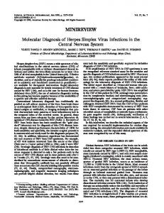 minireview - Journal of Clinical Microbiology - American Society for ...