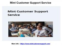 Mint Customer Service Number