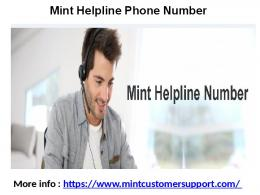Mint Software Support