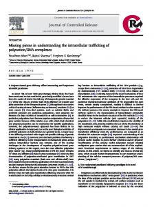 Missing pieces in understanding the intracellular trafficking of ...