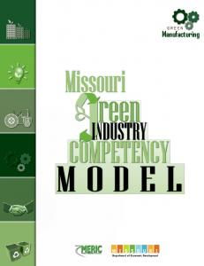 Missouri Green Manufacturing Competency Model