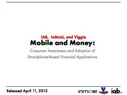 Mobile and Money: - IAB