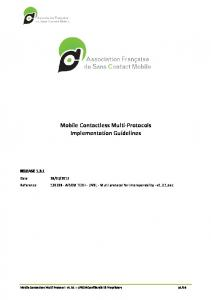 Mobile Contactless Multi-Protocol - Centre d'information AFSCM