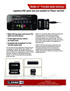 Mobile In™ Portable Audio Interface