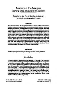 Mobility in the Margins - Berghahn Journals