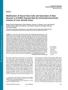 Mobilization of Neural Stem Cells and Generation of ... - SAGE Journals