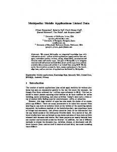 Mobipedia: Mobile Applications Linked Data