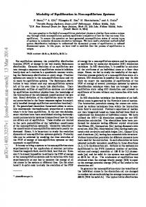 Modality of Equilibration in Non-equilibrium Systems
