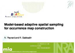 Model-based adaptive spatial sampling for occurrence map construction