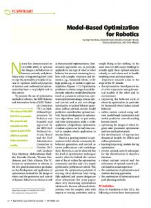Model-Based Optimization for Robotics - IEEE Xplore