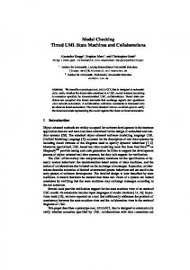 Model Checking Timed UML State Machines and Collaborations