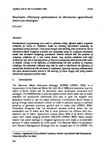 model closure and price formation under switching ... - AgEcon Search