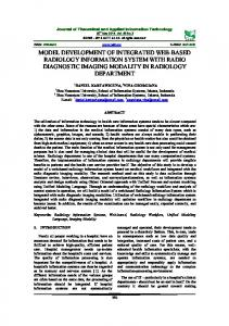 model development of integrated web-based radiology information ...